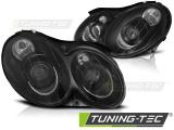 Přední světla Mercedes CLK W209 03-10 černá