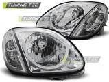 Přední světla Mercedes R170 SLK 04/96-04 chrom