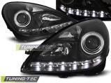 Přední světla Mercedes R171 SLK 04-11 černá