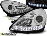 Přední světla Mercedes R171 SLK 04-11 chrom