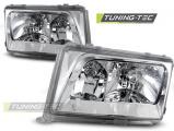 Přední světla Mercedes W124 01/85-04/93 chrom