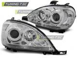 Přední světla Mercedes W163 ML/M 03/98-08/01 chrom