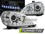Přední světla Mercedes W163 ML/M 09/01-05 chrom