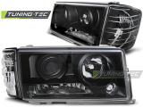 Přední světla Mercedes W201/190 12/82-05/93 černá