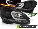 Přední světla Mercedes W204 11-14 černá