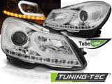 Přední světla Mercedes W204 11-14 chrom