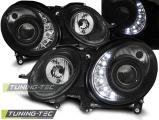 Přední světla Mercedes W211 E-Class 03/02-04/06 černá