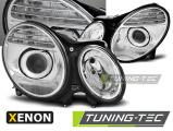 Přední světla Mercedes W211 E-Class 03/02-04/06 chrom xenon