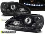 Přední světla Mercedes W220 S-Class 09/98-05/05 černá