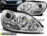 Přední světla Mercedes W220 S-Class 09/98-05/05 chrom
