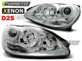 Přední světla Mercedes W220 S-Class 10/02-05/05 chrom xenon