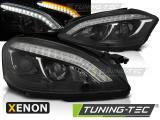 Přední světla Mercedes W221 05-09 černá xenon