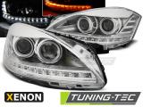 Přední světla Mercedes W221 05-09 chrom xenon
