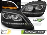 Přední světla Mercedes W164 ML/M 05-07 černá SEQ