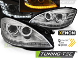 Přední světla Mercedes W221 05-09 chrom SEQ xenon