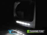 Přední světla Mercedes W461, W463 01-12 led DRL silver TUNINGTEC