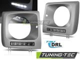 Přední světla Mercedes W461, W463 01-12 led DRL silver