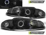 Přední světla Mitsubishi  Eclipse 97-12/98 Angel Eyes černá