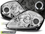 Přední světla Mitsubishi  Eclipse D50 00-05 Angel Eyes chrom