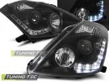 Přední světla Nissan 350Z 03-05 D2S černá
