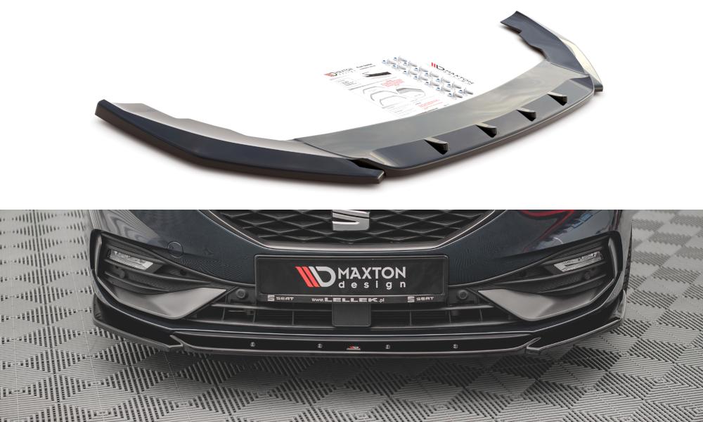 Přední spoiler nárazníku Seat Leon FR Mk4 2020 - Maxtondesign