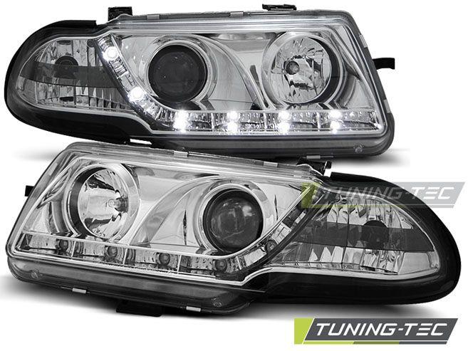 Přední světla Opel Astra F 09/94-08/97 chrom TUNINGTEC