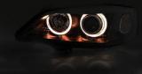 Přední světla Opel Astra G 09/97-02/04 Angel Eyes černá TUNINGTEC