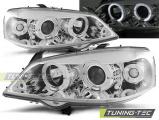 Přední světla Opel Astra G 09/97-02/04 Angel Eyes chrom