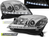 Přední světla Opel Astra H 03/04-09 3/5D chrom