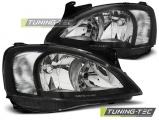 Přední světla Opel Corsa C 11/00 - 09/06 černá