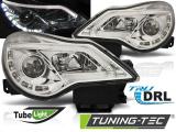 Přední světla Opel Corsa D 11-14 DRL chrom