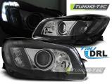 Přední světla Opel Insignia 08-12 černá TRU DRL