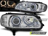 Přední světla Opel Omega B 04/94-08/99 Angel Eyes chrom