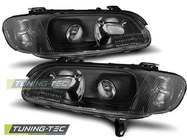 Přední světla Opel Omega B 04/94-08/99 černá TUNINGTEC