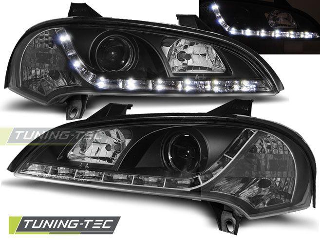 Přední světla Opel Tigra 09/94-12/00 černá TUNINGTEC