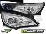 Přední světla Opel Astra J 10-15 TUBE LIGHT chrom