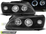 Přední světla Peugeot 106 08/96-03 Angel Eyes černá