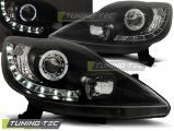 Přední světla Peugeot 107 05-11 černá
