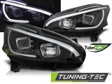 Přední světla Peugeot 208 4/12-06/15 černá
