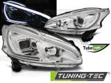 Přední světla Peugeot 208 4/12-06/15 chrom