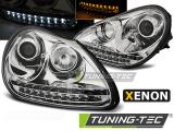 Přední světla Porsche Cayenne 02-06 chrom xenon