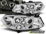 Přední světla Renault Megane II 11/02-12/05 Angel Eyes chrom