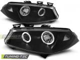 Přední světla Renault Megane II 11/02-12/05 Angel Eyes černá