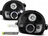 Přední světla Renault Twingo 03/93-09/98 Angel Eyes černá