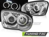 Přední světla Subaru Impreza II GD 03-05 Angel Eyes chrom