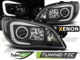 Přední světla Subaru Impreza II GD 06-07 černá