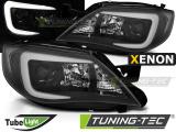 Přední světla Subaru Impreza III GH 07-12 černá xenon