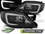 Přední světla Subaru Impreza III GH 07-12 černá
