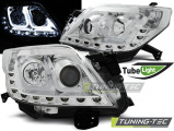 Přední světla Toyota Land Cruiser 150 09-13 TUBE chrom
