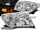 Přední světla Toyota Land Cruiser FJ200 07-12 chrom led